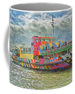 Coffee Mug featuring the photograph Ferry Across The Mersey by Leigh Kemp