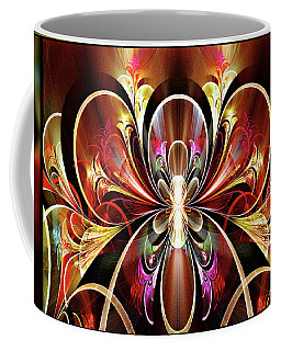 Coffee Mug featuring the digital art Festival by Missy Gainer