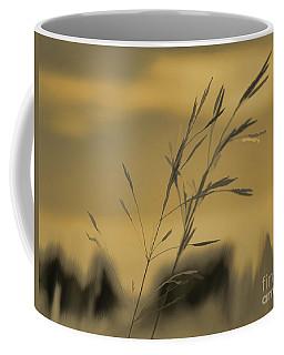 Field At Sundown Coffee Mug