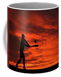 Field Of Dreams Baseball Sports Sunset Silhouette Series   Coffee Mug