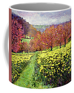 Fields Of Golden Daffodils Coffee Mug