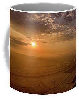 Fields On The Sunset Coffee Mug