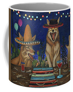 Fiesta De Los Coyote's Coffee Mug