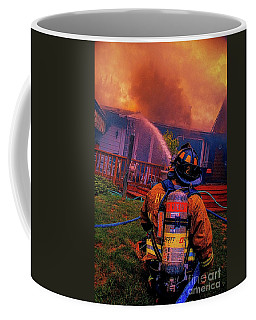 Fighting The Fight Coffee Mug