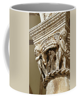 Figures On Capitals Of The Rector's Palace Coffee Mug