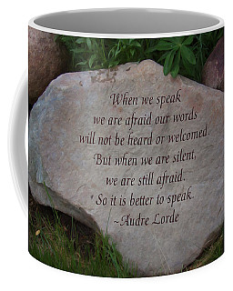 Finding Your Voice - Nature Art By Omaste Witkowski Coffee Mug