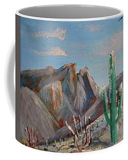 Finger Rock Winter Coffee Mug
