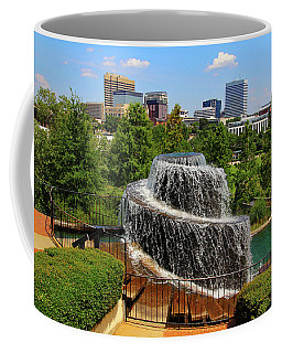 Coffee Mug featuring the photograph Finlay Park Columbia South Carolina by Joseph C Hinson Photography