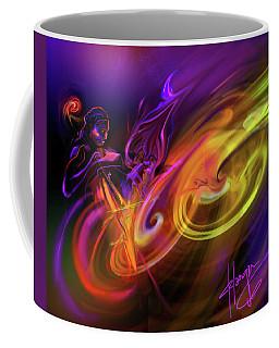 Cellist In Space Coffee Mug