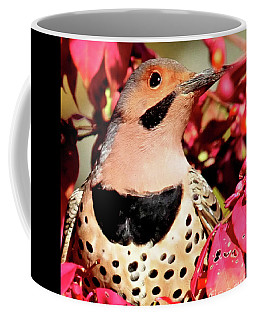 Fire Bush Flicker Coffee Mug