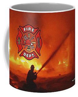 Fire Fighting 5 Coffee Mug