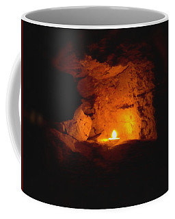 Coffee Mug featuring the photograph Fire Inside by Lucia Sirna