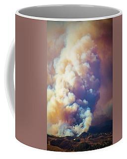Coffee Mug featuring the photograph Fire Power by Lynn Bauer