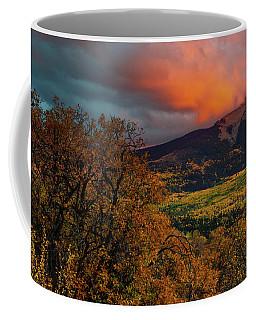 Coffee Mug featuring the photograph Fire Sky by John De Bord