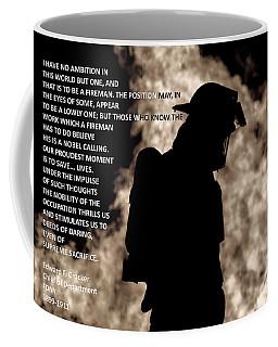 Firefighter Poem Coffee Mug