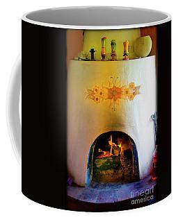 Fireplace In Hacienda Near Sustag Coffee Mug