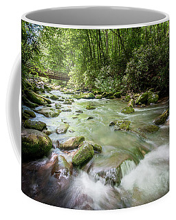 Coffee Mug featuring the photograph Fires Creek, North Carolina by Mark Duehmig