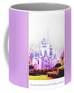 Fireworks, Cinderella's Castle, Magic Kingdom, Walt Disney World Coffee Mug
