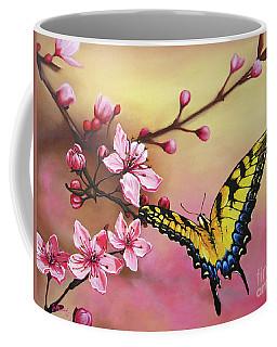 First Blossom Of The Morning Coffee Mug