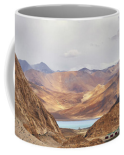 Coffee Mug featuring the photograph First Glimpse by Whitney Goodey