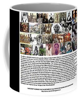 First Native Americans Were Indigo Twa Black Afrikans Coffee Mug
