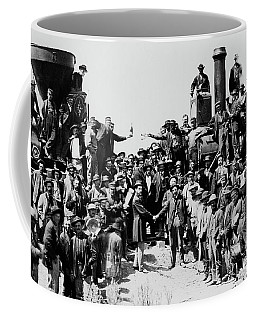First Opening Of The Transcontinental Railroad - 1869 Coffee Mug