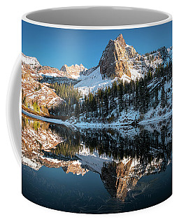 Coffee Mug featuring the photograph First Snow At Lake Blanche by James Udall