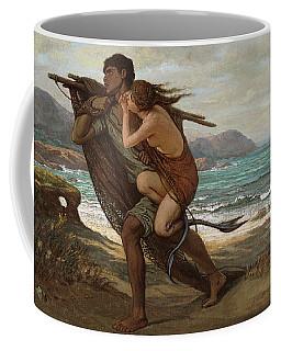 Fisherman And Mermaid, 1889 Coffee Mug