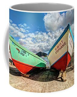Fishing Boats In Frenchtown Coffee Mug