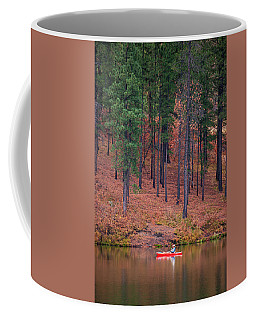 Fishing Fenton Lake Coffee Mug
