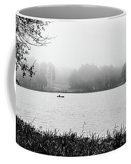 Fishing In The Fog Coffee Mug