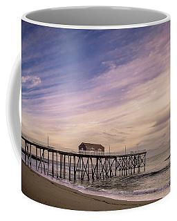 Fishing Pier Sunrise Coffee Mug