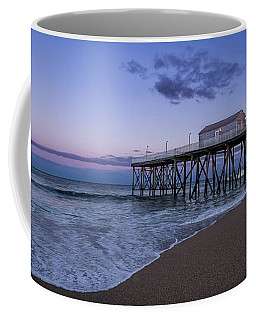 Fishing Pier Sunset Coffee Mug