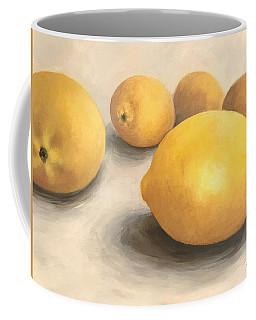 Five Lemons  Coffee Mug
