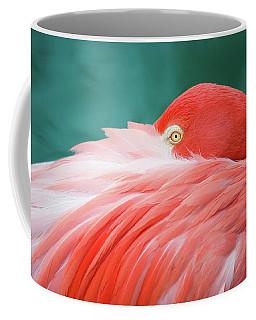 Flamingo At Rest Coffee Mug