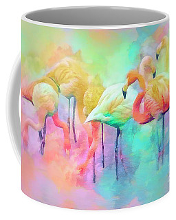 Flamingo Rainbow Coffee Mug