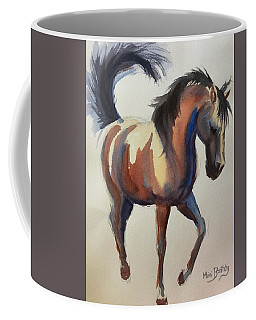 Flashing Bay Horse Coffee Mug