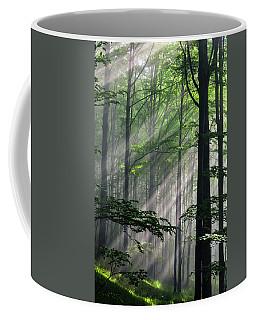 Fleeting Beams Coffee Mug