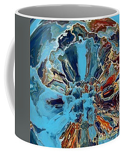Coffee Mug featuring the digital art Fleur Du Florence by A zakaria Mami