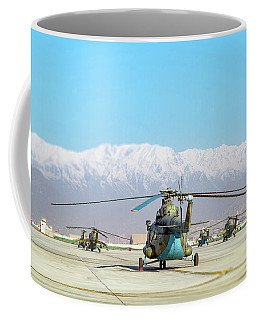 Coffee Mug featuring the photograph Flight Line by SR Green