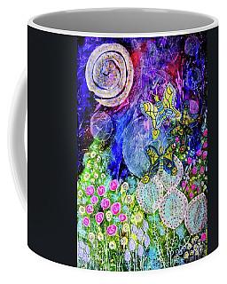 Flight Of The Lunar Moths Coffee Mug