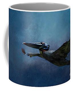 Flight Of The Pelican Coffee Mug