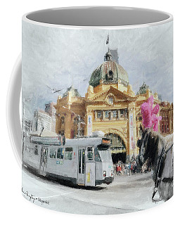 Flinders Street Station, Melbourne Coffee Mug