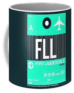 Fll Fort Lauderdale Luggage Tag II Coffee Mug