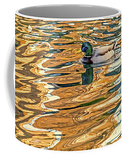 Coffee Mug featuring the photograph Floating In Color by Kate Brown