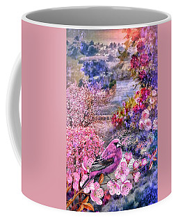 Floral Embedded Coffee Mug