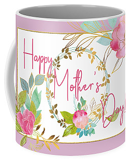 Floral Mother's Day Art Coffee Mug