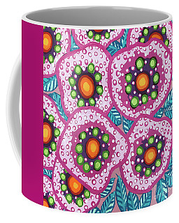 Floral Whimsy 10 Coffee Mug