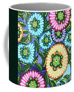 Floral Whimsy 6 Coffee Mug