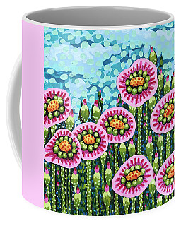 Floral Whimsy 8 Coffee Mug